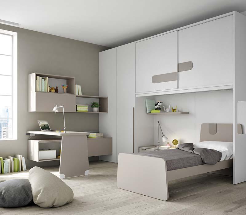 Arredamento camerette salone del mobile for Nuovo arredo camerette