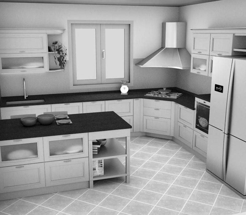 Arredo cucine con elettrodomestici salone del mobile - Cucine complete di elettrodomestici ...