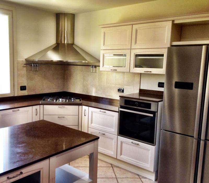 Studio per Cliente Rendering Cucina