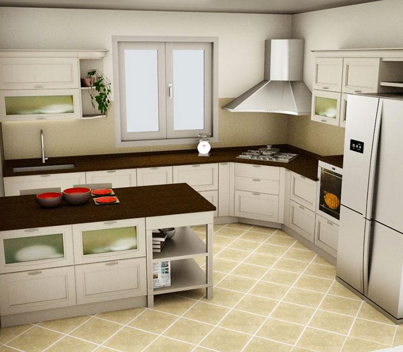Rendering Cucina Salone del Mobile